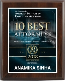 10 Best Attorneys - Anamika Sinha